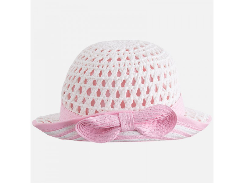 Mayoral-Pink-Bow-Hat-10417 8b85496a632